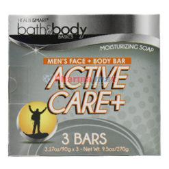 Health Soap Actv Care 3.17Oz