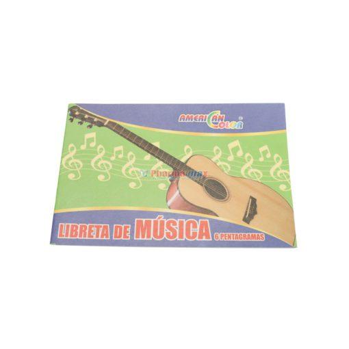 AC LIBRETA MUSICA 6 PENTAGRAMA