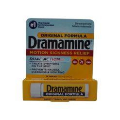 DRAMAMINE ORIGINAL 12 TABLETS