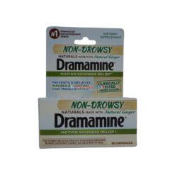 DRAMAMINE NATURALS 18 CAP