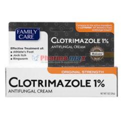Family Care Clotrimazole Cream 1% 1oz