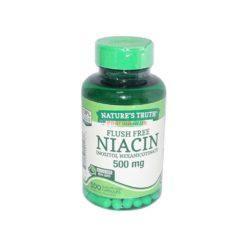 NT NIACIN 500mg 100 CAPS