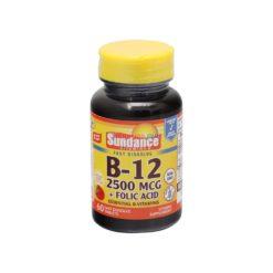 SUNDANCE B-12 2500mcg 60 TAB