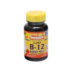 SUNDANCE B-12 6000mcg 30 TAB