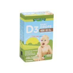 NT D3 400iu BABY DROPS 9.2ml