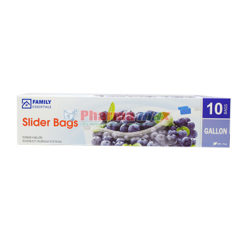 Family Essentials Slider Bags 1G 10ct
