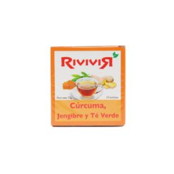 RIVIVIR CURC/JENG/VERDE 10 BAG