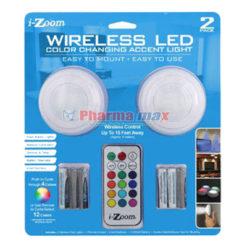 Izoom Wireless Led Color 2pk