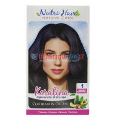 Nutri Hair Keratina Coloration Cream Negro Natural 1
