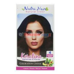 Nutri Hair Keratina Coloration Cream Castano Medio 4