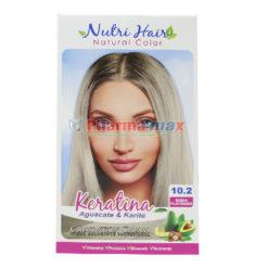 Nutri Hair Keratina Coloration Cream Rubio Platinado 10.2