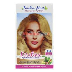 Nutri Hair Keratina Coloration Cream Rubio Muy Claro Dorado 9.3
