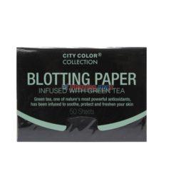 CITY COLOR BLOT PAPER TEA 50sh