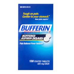 Bufferin Aspirin Pain Relief 130tabs
