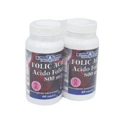 PN FOLIC ACID 800mcg 2/60 TAB