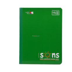 SONS NOTEBOOKS REGULAR GREEN