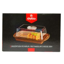 Evelin Rectangular Cheese Dish