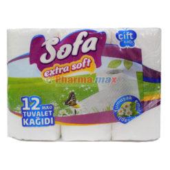 Sofa Toilet Paper Extra Soft 12pcs