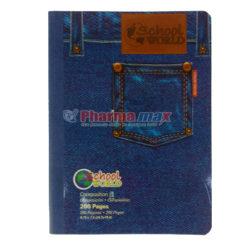 GLOBAL SCHOOL N/BOOK LRG 200pg