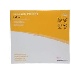 CARDINAL COMP DRESSNG 6x6 10pk