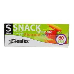 Zippies Snack Zipper Bag 60ct