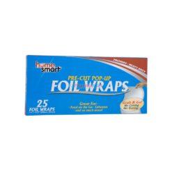 HOME POP UP FOIL WRAPS 25pk