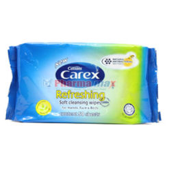 Cussons Carex Wipes 50 Sheets
