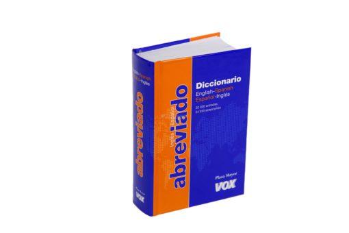 VOX DICCIONA ABREVIADO ESP-ING